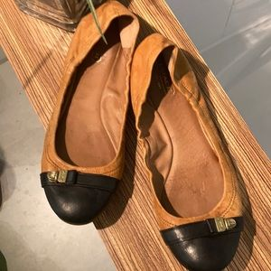 COACH Ballet flats leather size 10